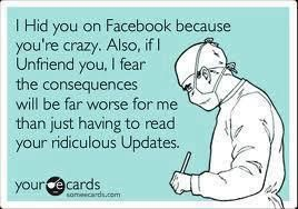 Hahahahahahahahahaha: Facebook Unfriend, Some People, Cant Stop Laughing, Funny Stuff, Delete People On Facebook, Unfriend Quotes, Unfriend Me On Facebook, The Secret, Can'T Stop Laughing