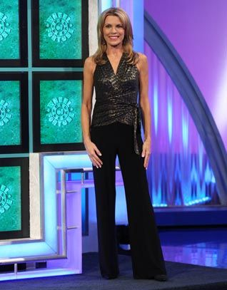 vanna white mini skirt