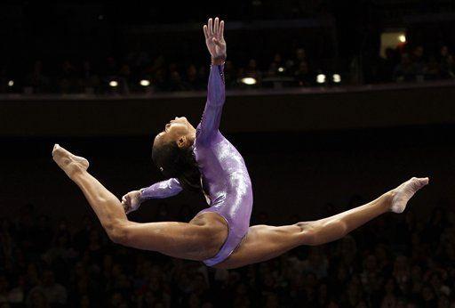 Gabby Douglas wins the gold for her impressive array of aerial skills! Go Team USA!