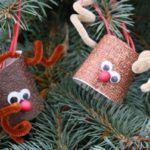 Adornos de Navidad fáciles