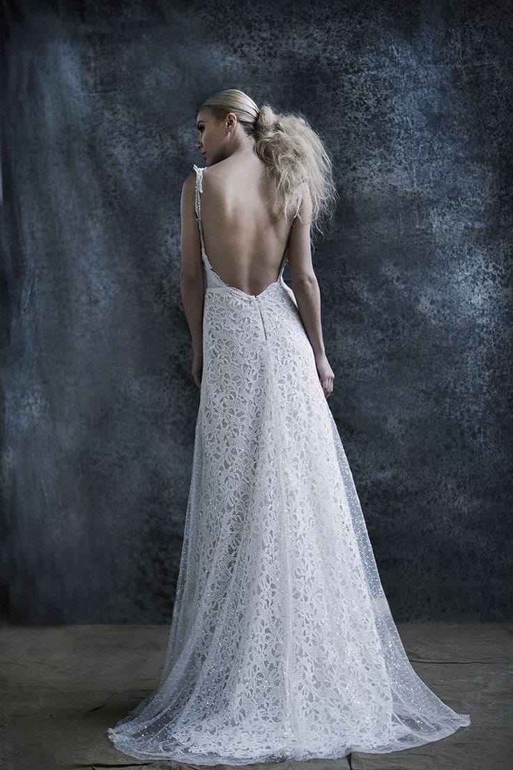 Wedding dress //Karla// #openback #vintage #bride #gown