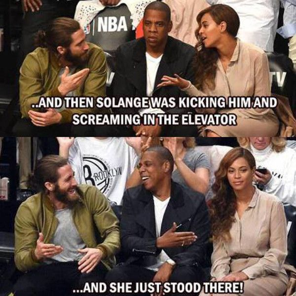 Jay-Z and Solange Fight memes | Jay Z and Solange's Elevator Attack: Here Come the Memes! | E! Online