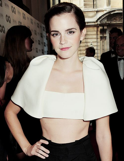 Emma Watson attends GQ Awards 2013 on September, 03