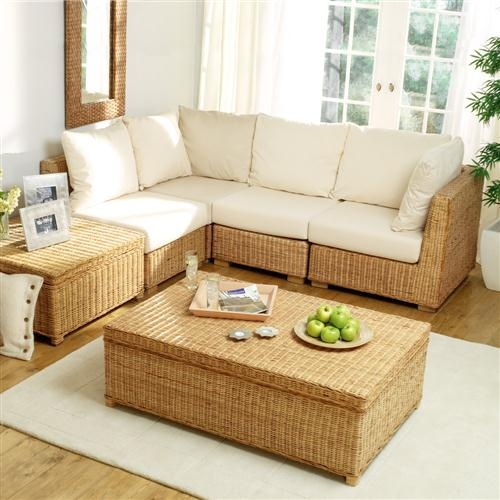 Raffles Cream Corner Sofa from The Cotswold Company