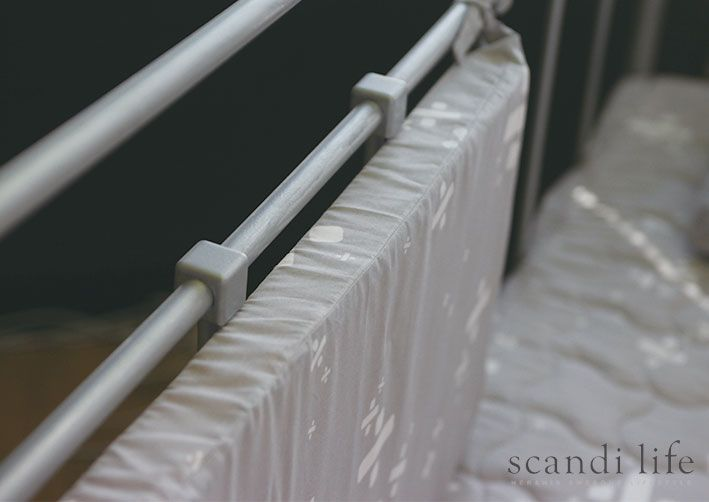 Bed cushion, bumper, cushion, guard, 스칸디라이프, Scandi Life,이케아, IKEA, IKEA bed