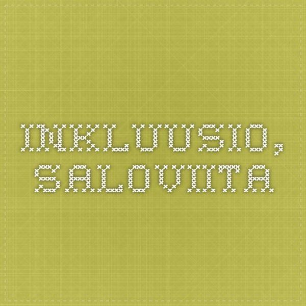 Inkluusio, Saloviita