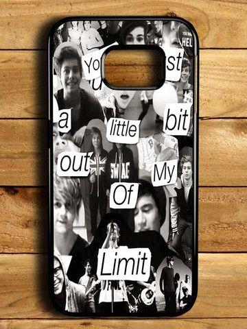 5sos Collage Samsung Galaxy S6 Edge Case