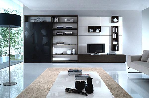 ... - moderne minimalistische wohnzimmergestaltung ideen farben wohnwand