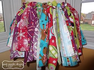 Fabric Strip Tutu Tutorial