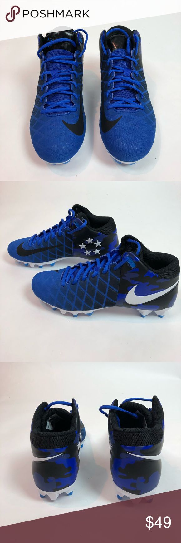 Nike Mens Football Cleats Field General Pro Sz 10 Brand new without box! Nike men's football cleats. Nike Shoes Athletic Shoes