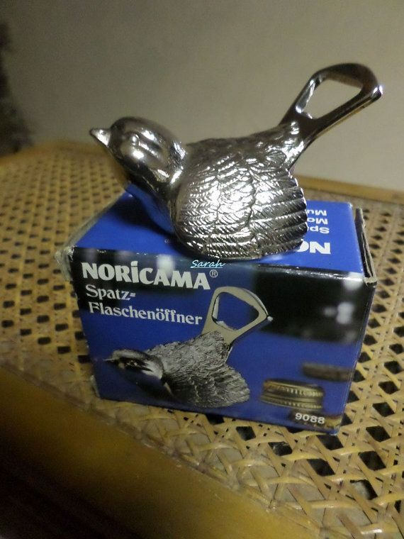 Noricama Sparrow Bottle Opener  Made In West Germany  by TinTack, €16.00