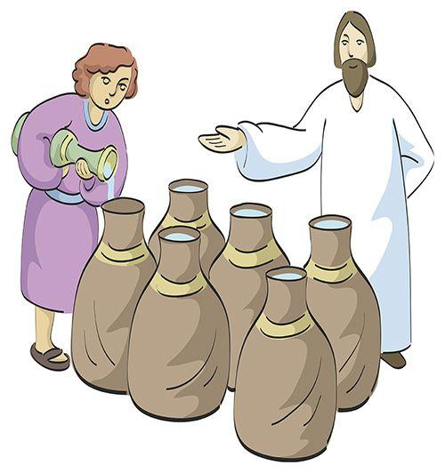 El primer milagro de Jesús en las bodas de Caná