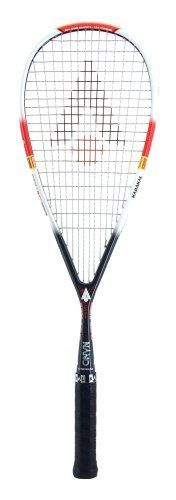 Karakal MX-125 Squash Racquet [Sports] by Karakal. Save 33 Off!. $113.95. Features the successful 'B' series inner 'Muscle System' which dramatically improves the control and power in the frame making even off centre hits feel like the middle of hte sweet spot. All frames have the 'Muscle Tec' string system. The MX-125 has an 'Internal Vibration Dampner' bonded into the frame to reduce vibration.