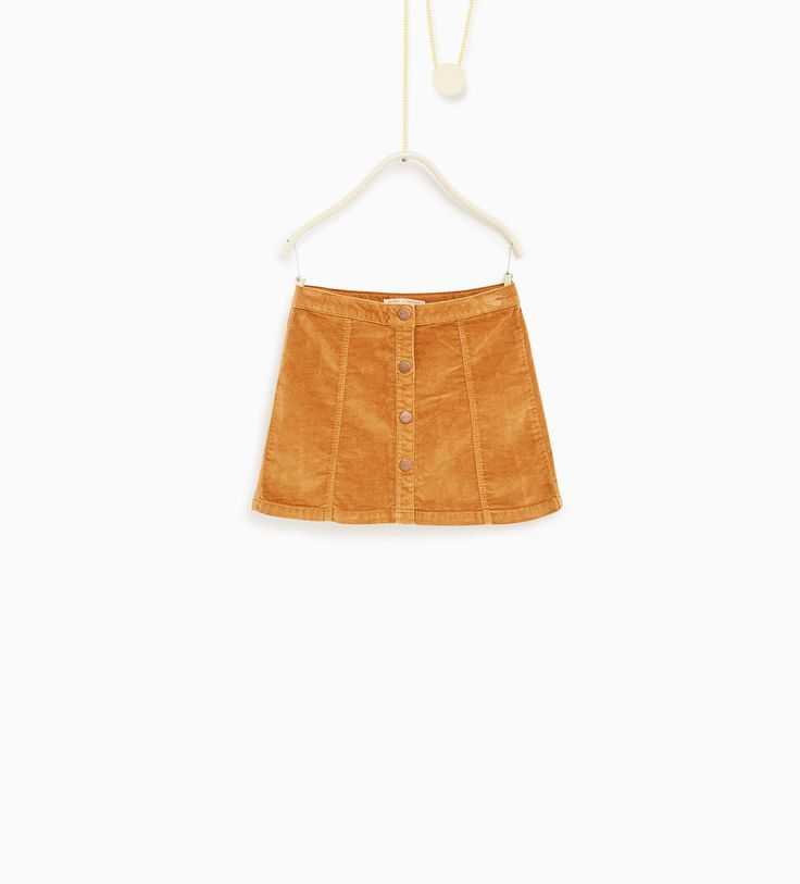 Moleskin skirt-NEW IN-GIRL | 4-14 years-KIDS | ZARA United States