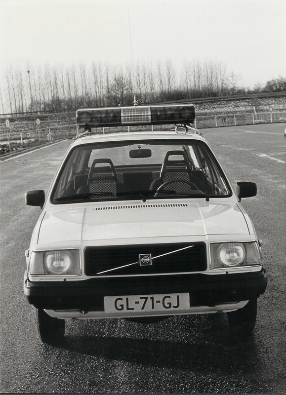 Volvo 343 - Dutch 'politie'