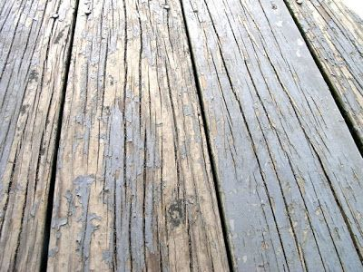 Refinishing a Pressure Treated Deck | How to stain and repair a peeling pressure treated wood deck | Dover Projects
