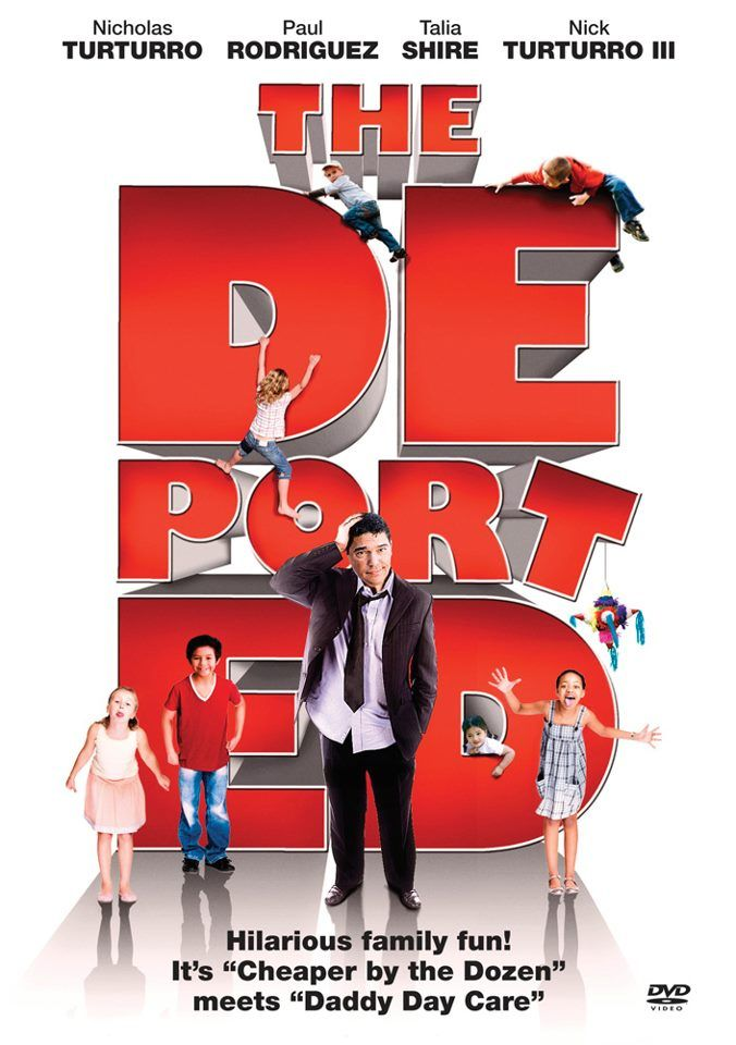 """#Movie #IMDb (Short Synopsis) """"When the INS deports a down-and-out Italian-American actor, Gianni DiCarlo (Nicholas Turturro), his mother (Talia Shire), dad, agent and ex-wife are worried sick over his disappearance. Stranded in the dangerous terrain of a small Mexican town, he is forced to find his own way back to Hollywood."""" (Starring) Nicholas Turturro (ABC's NYPD Blue), Paul Rodriguez (Ali, Blood Work), Talia Shire (Rocky 1-5, The Godfather 1-3), Gary Valentine (CBS's The King of…"""