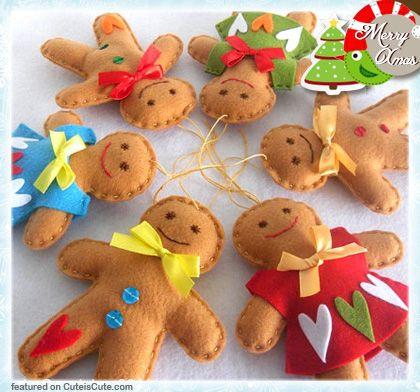 Cute felt Christmas decoration