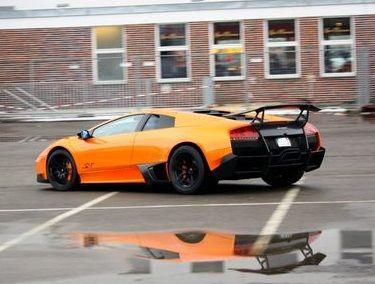Bon Lamborghini Murcielago SV