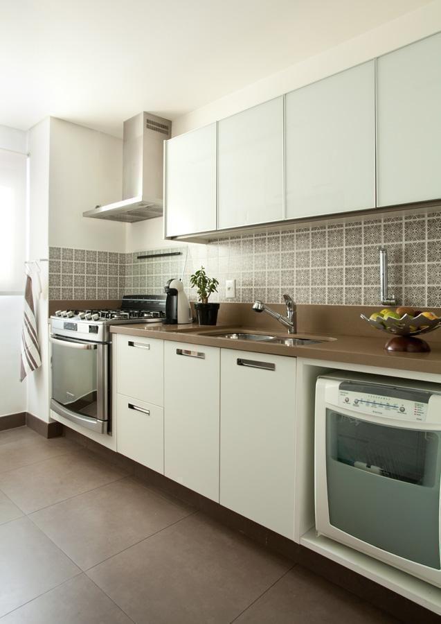Cozinhas compactas e o aproveitamento de cada espaço