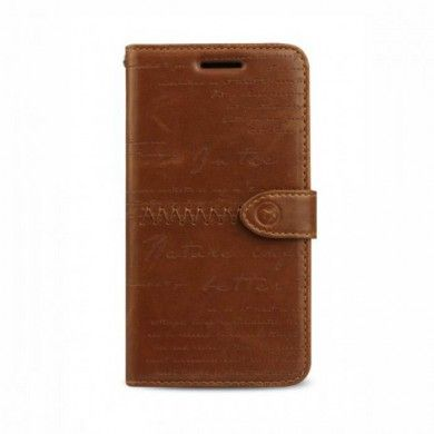 Custodia BlackBerry Z10 Zenus Masstige Lettering Diary - Marrone