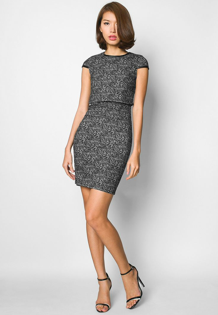 Buy Ezra Layered Sheath Dress | ZALORA Singapore