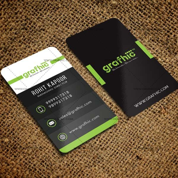 """UpTree !! """"Laminated Business Card"""" #grafhicworld . . A good business card definitely won't ensure your success, but it sure can help!! . . Buy Innovative Laminated Business Cards.  www.grafhic.com"""