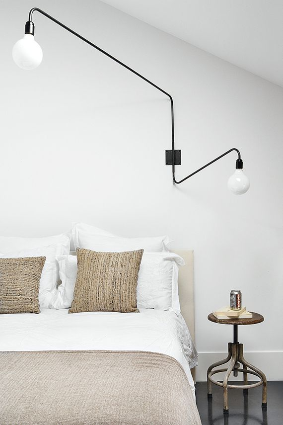 Best 10+ Swing arm wall lamps ideas on Pinterest Bedroom wall lamps, Swing arm wall sconce and ...