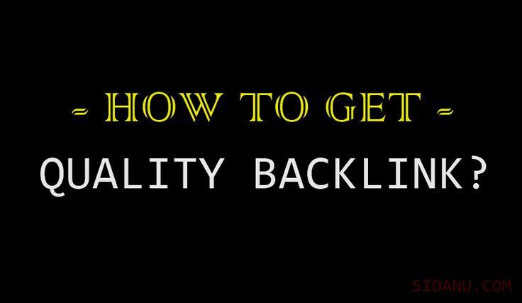 Teknik Membangun Backlink Berkualitas Yang Benar dan Aman