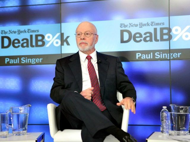 Anti-Trump Dossier Original Funder Paul Singer an Open Borders Establishment Republican Billionaire - Breitbart