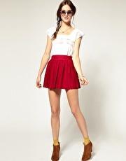 Pepe Jeans Pleated Skirt