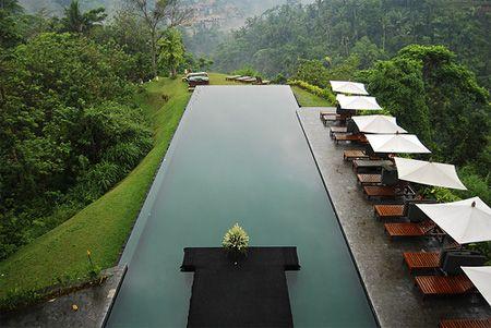 Infinity Pool in Ubud, Bali
