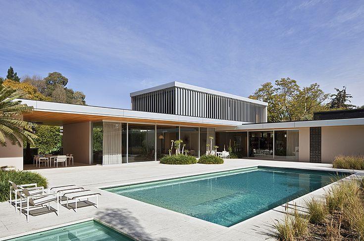 Casa AA, proyectada por el estudio mexicano Parque Humano