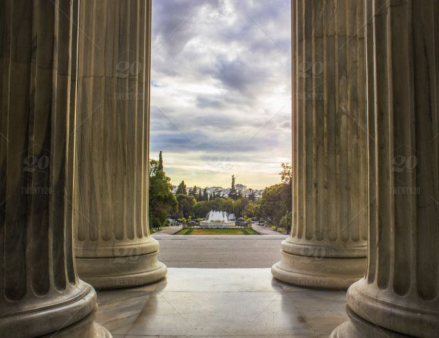 stock photo, clouds, columns, creative, skylovers