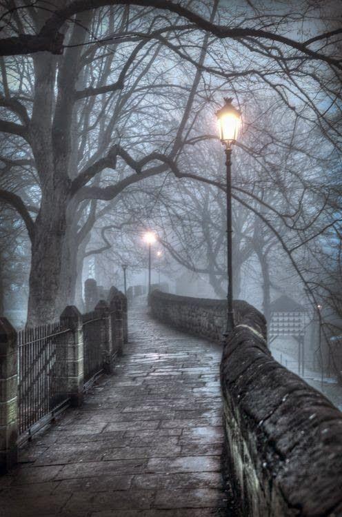 Lantern Walkway, Chester, England.