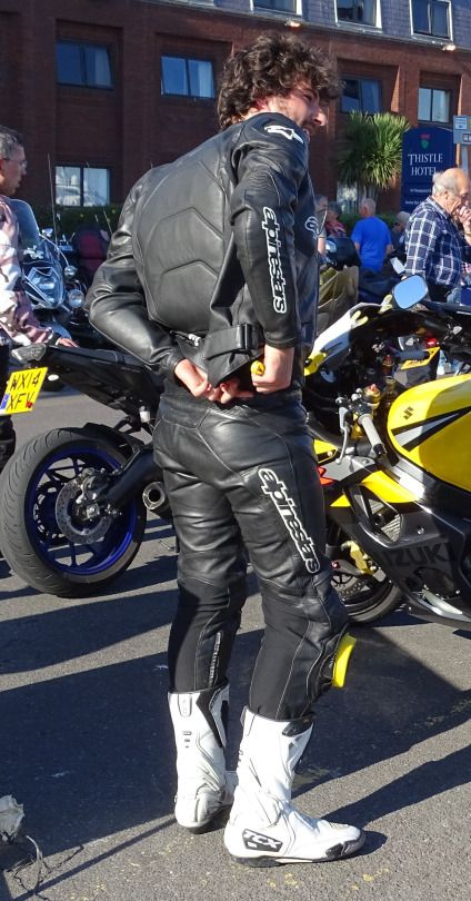 Bikers, Bikes, & Leather Guys