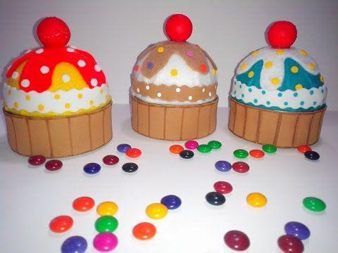 Cupcake con latas de atún - YouTube