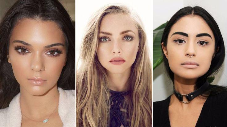 nude çıplak dudaklar ile makyaj trendleri 2017 2018