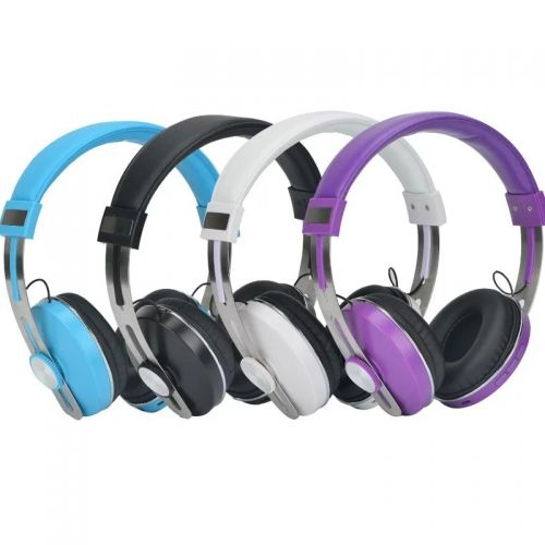 AT-BT823 Bluetooth Wireless Headset With Mic Support AUX-in Adjustable Music Headphone Stereo For Phones PC Child Gift