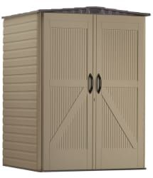 Amazon offers the Arrow Shed Brentwood 5x4-Foot Steel Storage Shed for $161.99 with free shipping. That's the lowest price we could find by $54. This galvanized shed features 93 cubic feet of storage space. Note: It usually ships in two to five weeks.