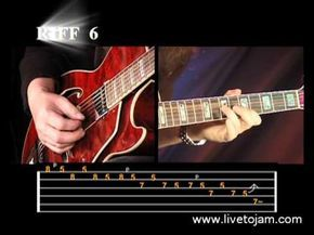 Learn How To Play Blues Guitar Lessons - 25 Beginner Blues Licks Part 2 For Beginners - YouTube