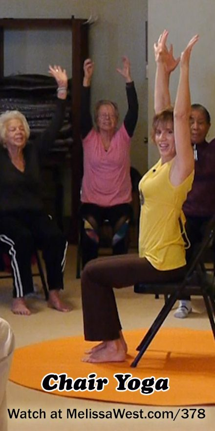 Yoga with Melissa 378 – Chair Yoga Class with Sherry Zak Morris