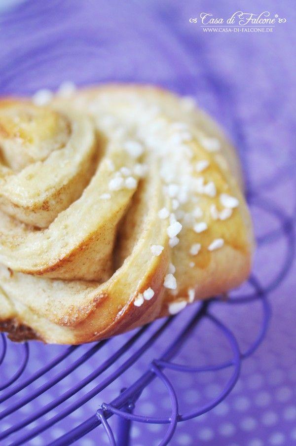 """Heute feiern die Schweden den """"Kanelbullens Dag"""" (Zimtschnecken-Tag). Ich liebe Zimtschnecken und als letztes Jahr Iris von kitsch deluxe besucht habe und"""