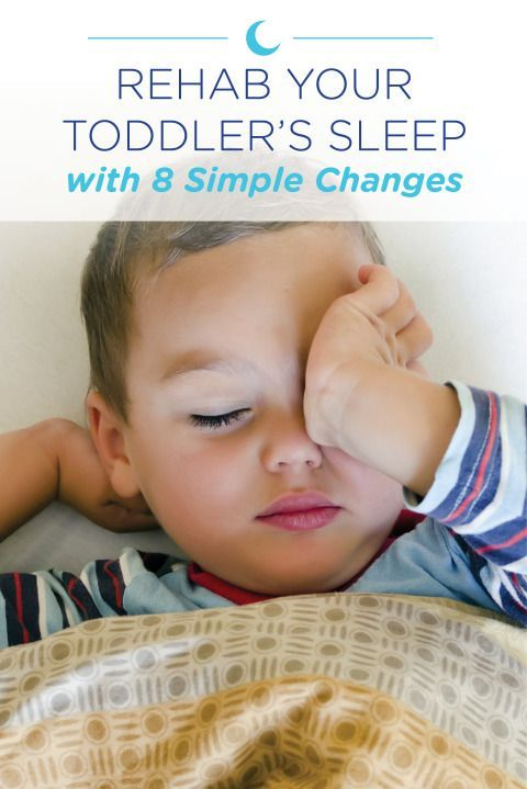Easy parenting tips and advice on the 10 best ways to rehab your toddler's sleep routine.