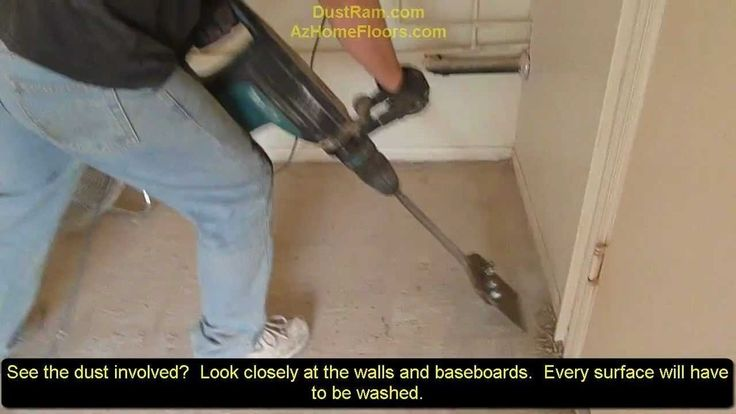 Amazing! Check Out Dust Free Tile Removal With The DustRam