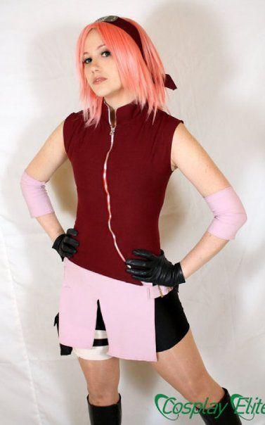 AMAZING cosplay ll Naruto ll Sakura Haruno by Paz-Cosplay