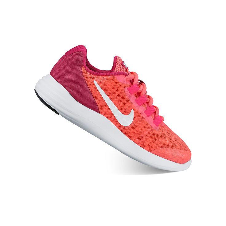 Nike LunarConverge Preschool Girls' Shoes, Girl's, Size: 1, Dark Red