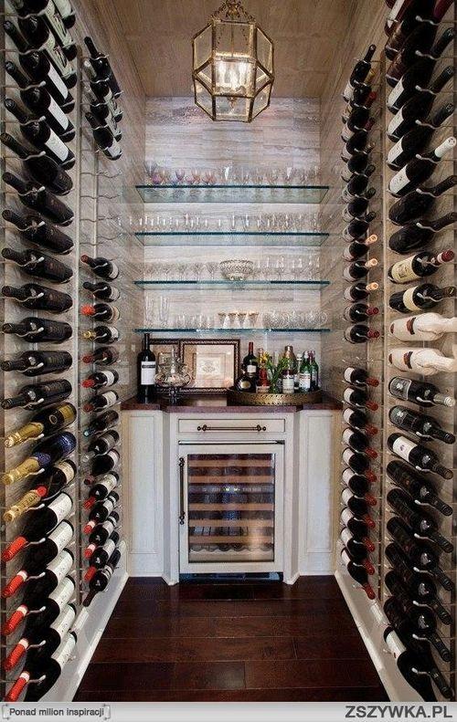 Wine room! Love it