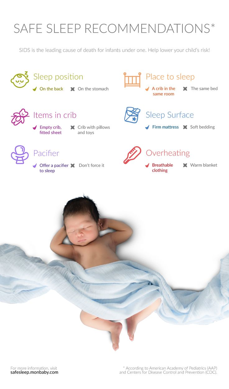 Do You Know The Safe Sleep Recommendations?   Step kids ...