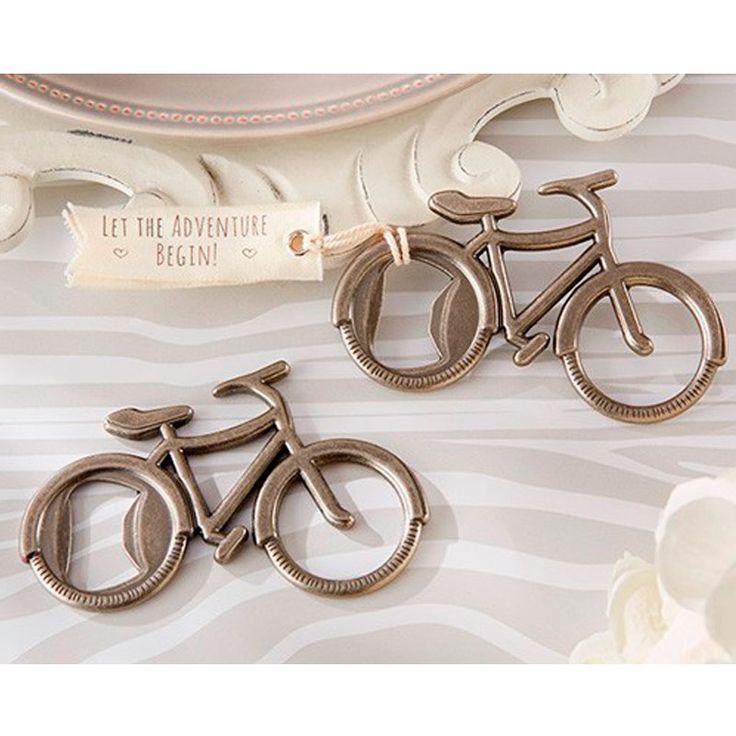 1,78€ - Abrebotellas Bicicleta en caja de regalo. Detalle de boda para invitados. Presentado en una bonita caja de regalo. Descuentos por cantidad. Envío 1.95€.